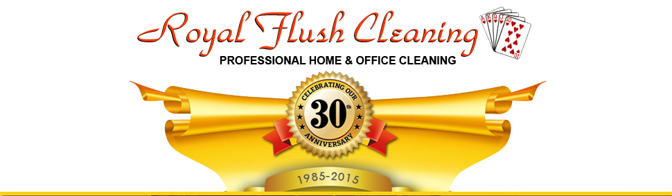 Royal Flush Cleaning logo